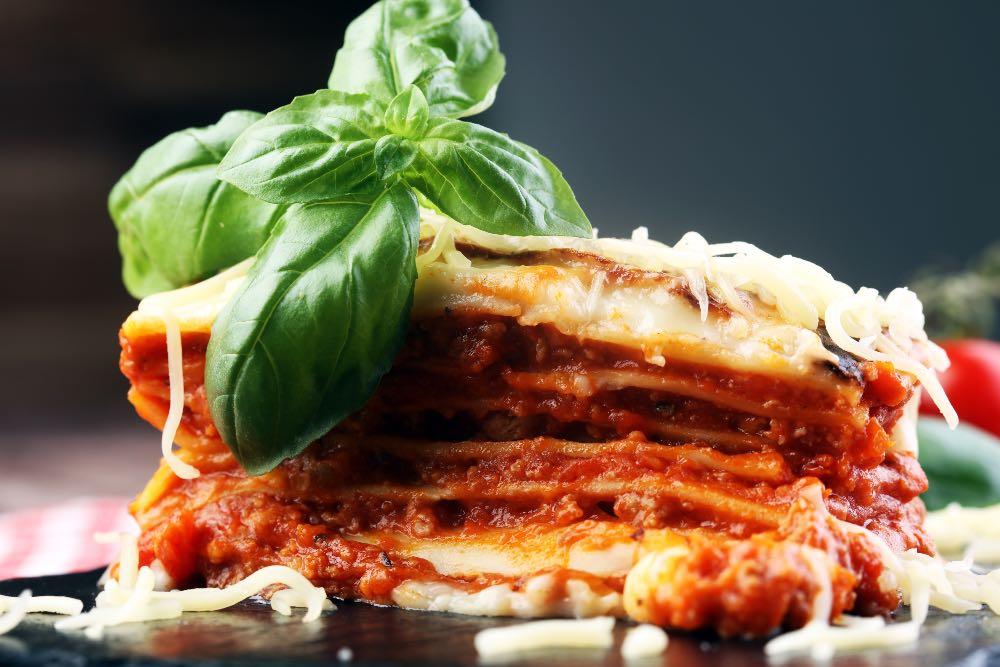 Lasagne speciali e light senza besciamella e senza carne