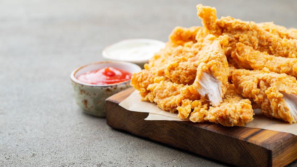 Pollo fritto e maionese super facili