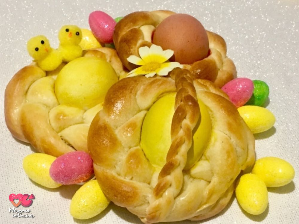 Nidi di Pasqua intrecciati, il dolce della tradizione
