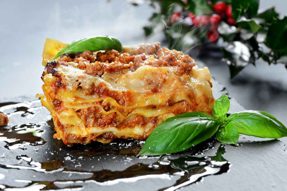 Lasagna con melanzane