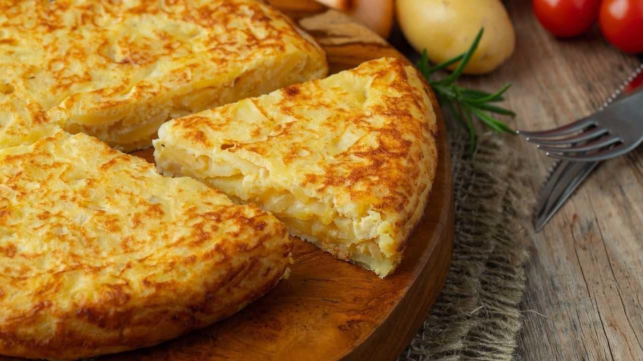 ricetta frittata di patate