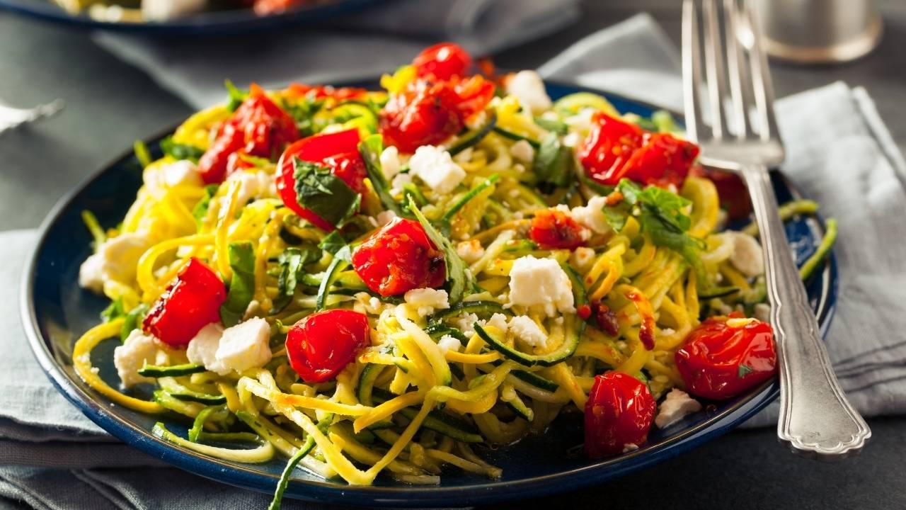 zoodles spaghetti zucchine