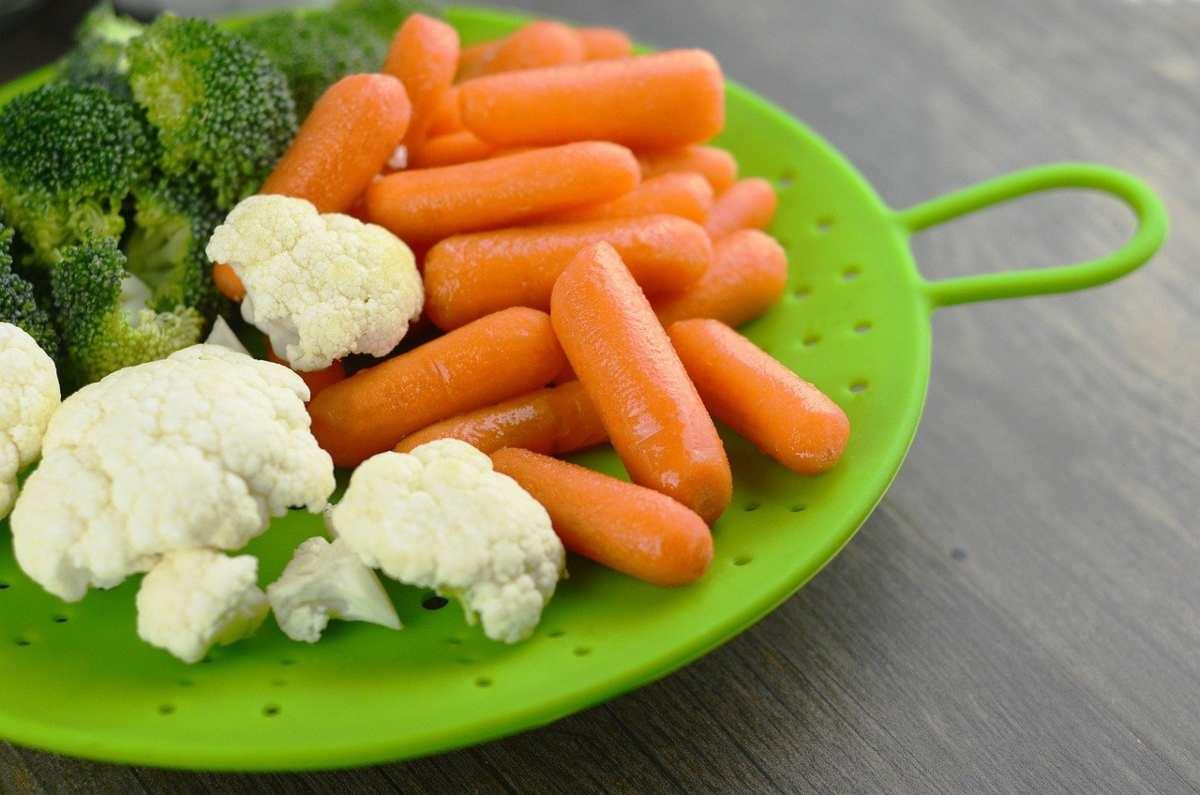 broccoli e carote