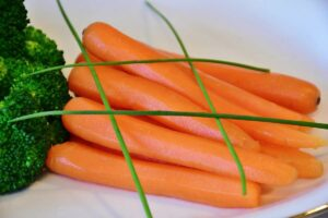 broccoli e carotte lessi