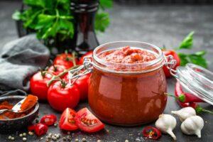 salsa di pomodoro fatta in casa