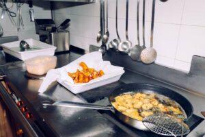 friggere crocchette di puré