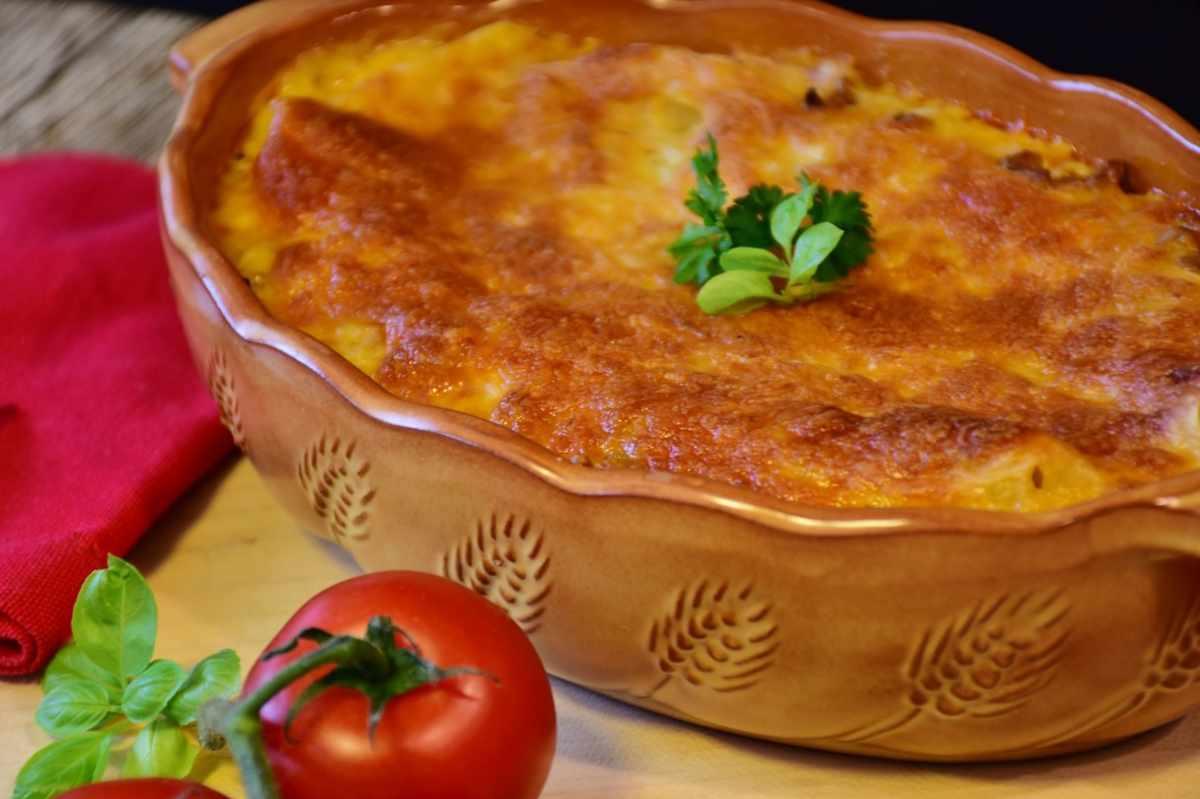 lasagna senza besciamella