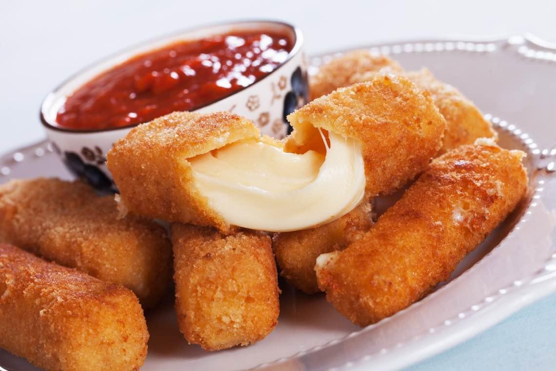 ricetta con mozzarella