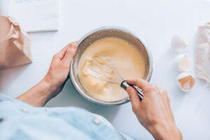 preparazione pancakes