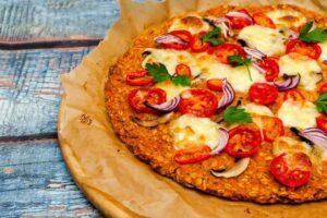 Pizza light di avena