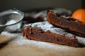 Torta biscotti e cioccolato