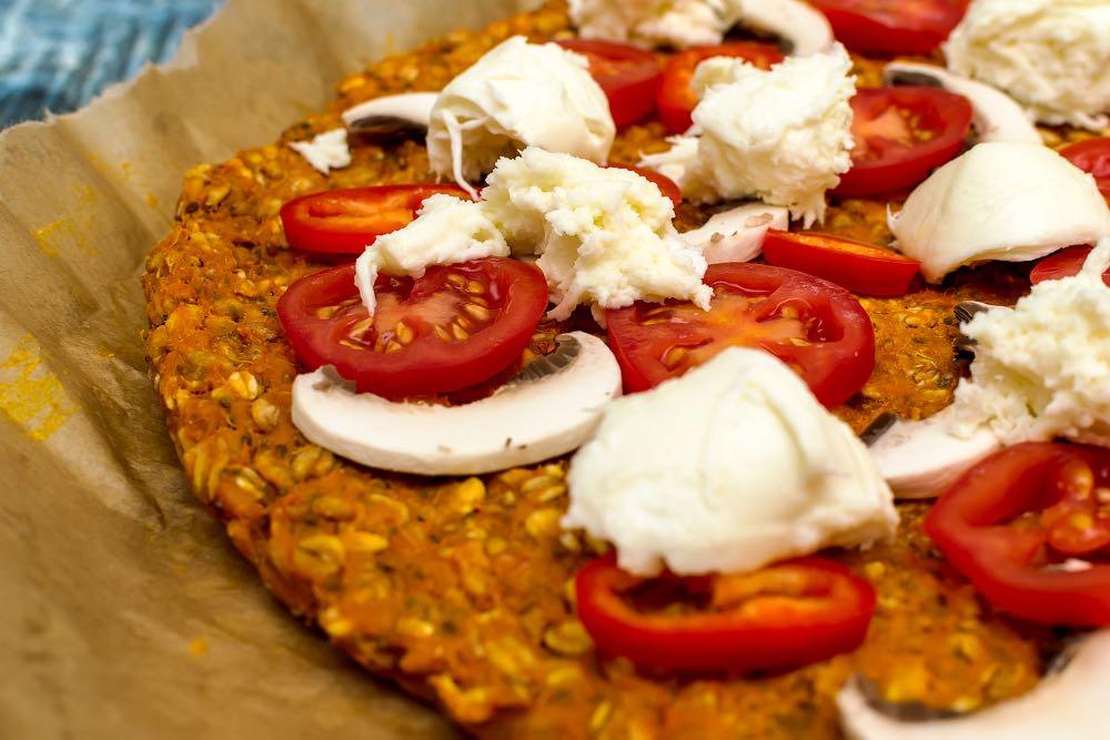 Pizza light zero sensi di colpa gustosa e in padella