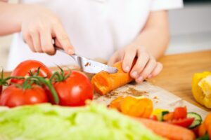 verdura a pezzi