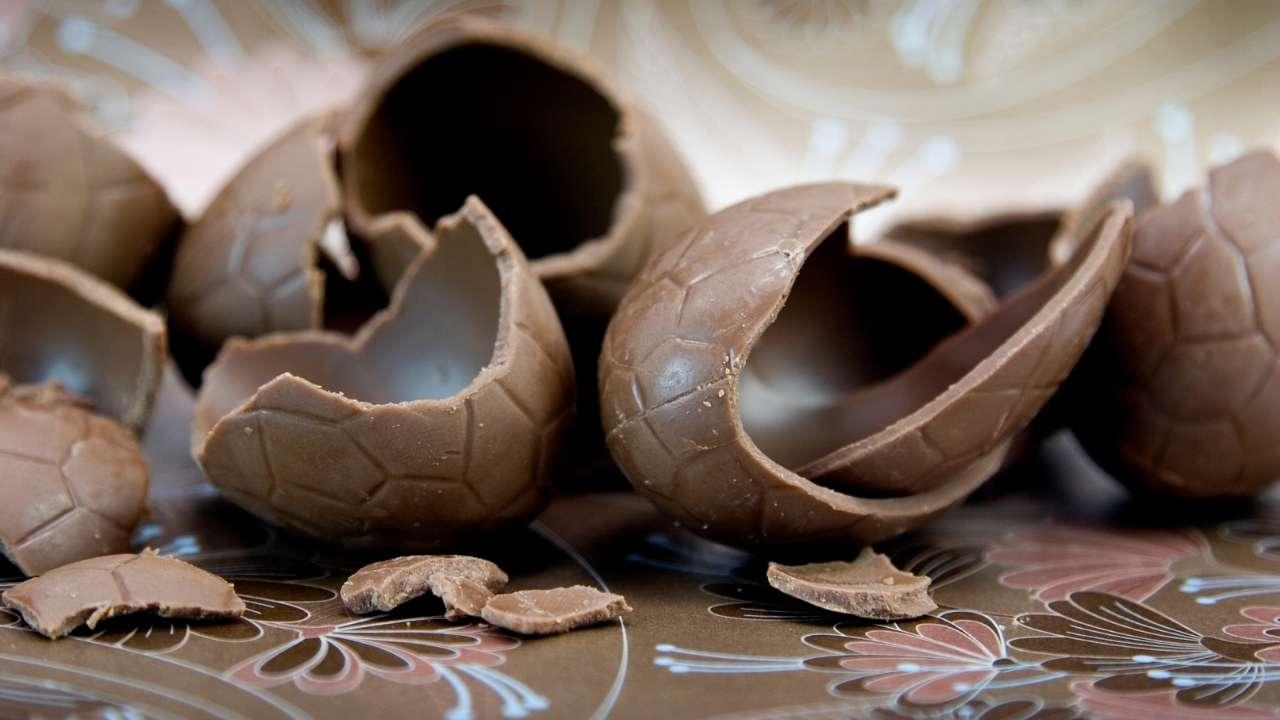riutilizzare uova cioccolato