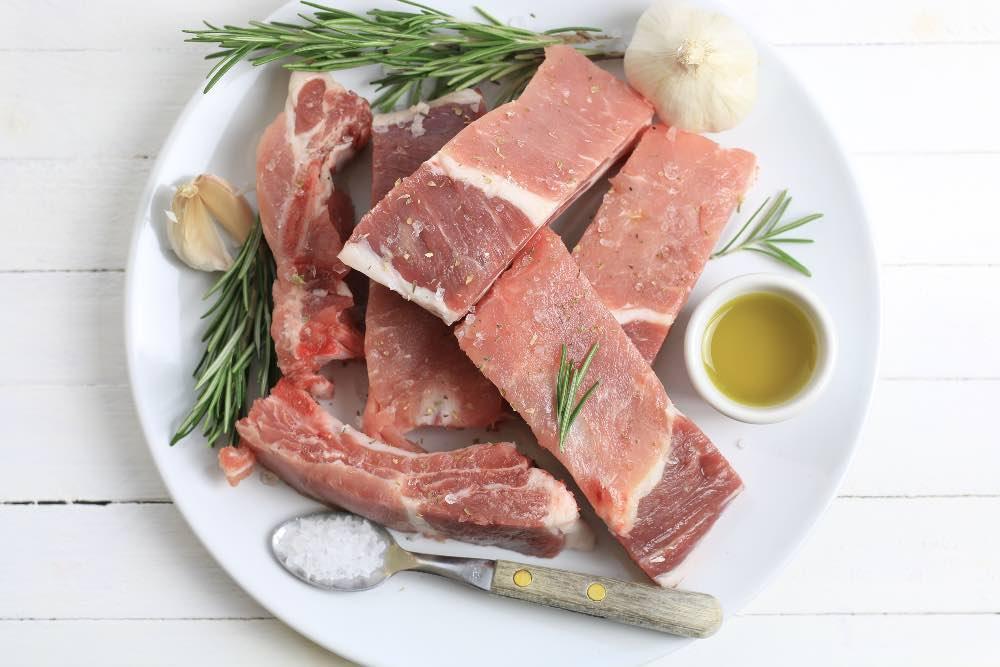 costine di maiale