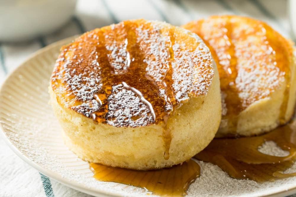 Fluffy pancake soffici