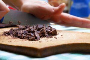 cioccolato tagliato
