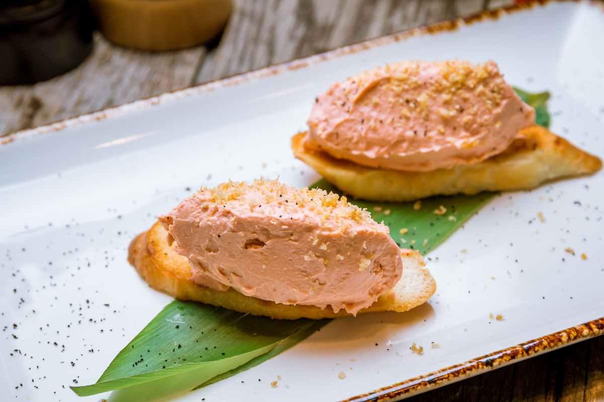 crema salmone