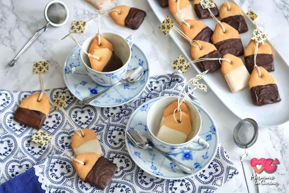 Biscottini bustine di tè