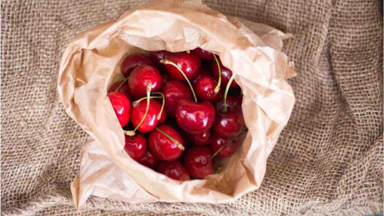 sacchetto ciliegie
