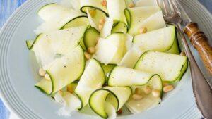 carpaccio zucchine