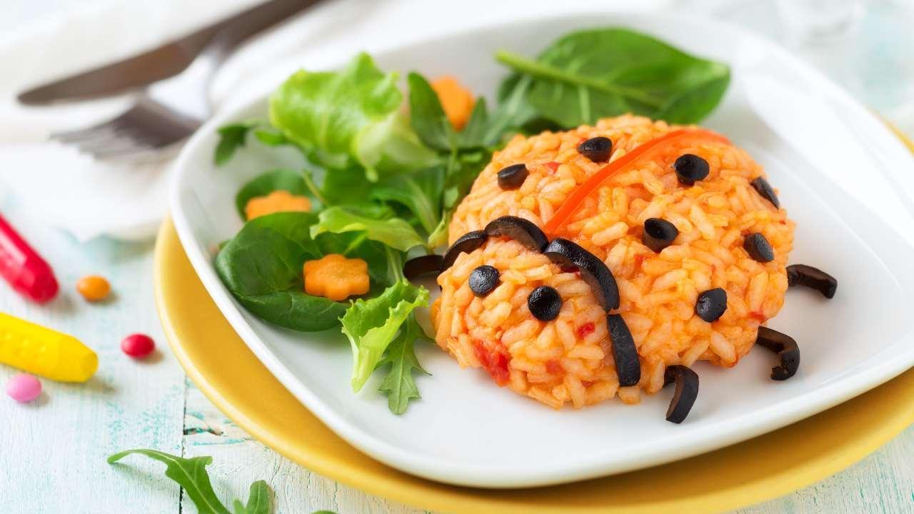 coccinelle riso pomodoro