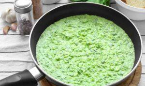 ricetta risotto spinaci