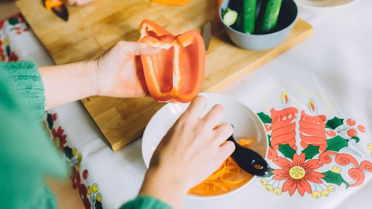rendere digeribili peperoni