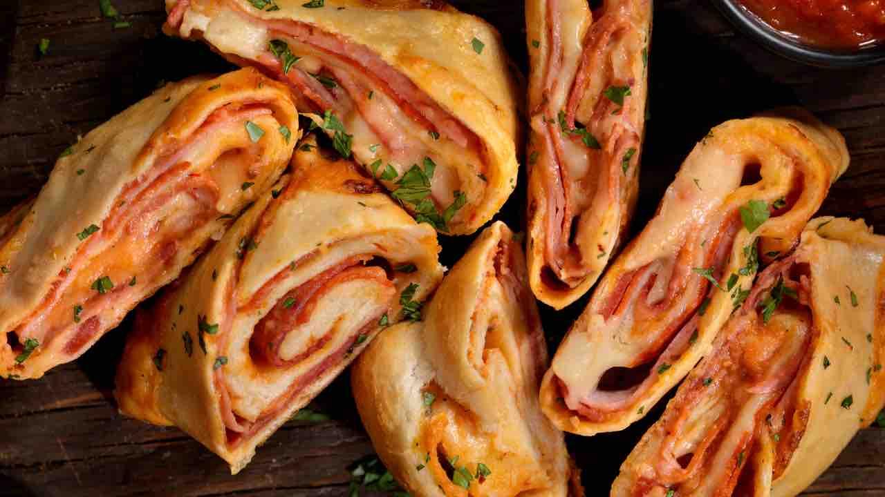 ricetta pizza Stromboli