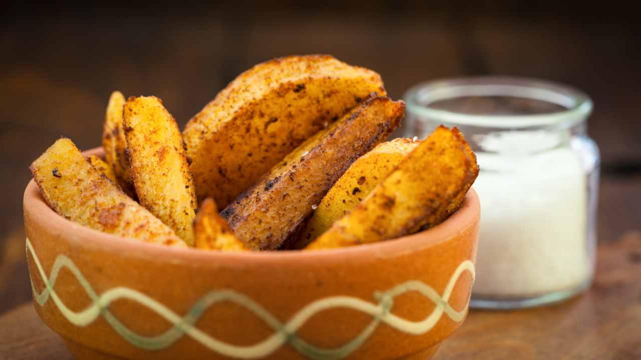 patate e semi di finocchio