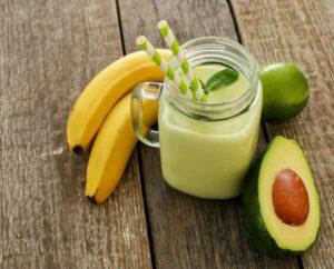 smoothie con avocado