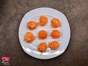 Rosti di patate, carote e cipollotto