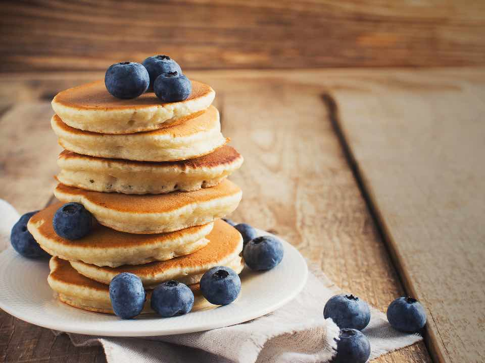 Pancake allo yogurt soffici