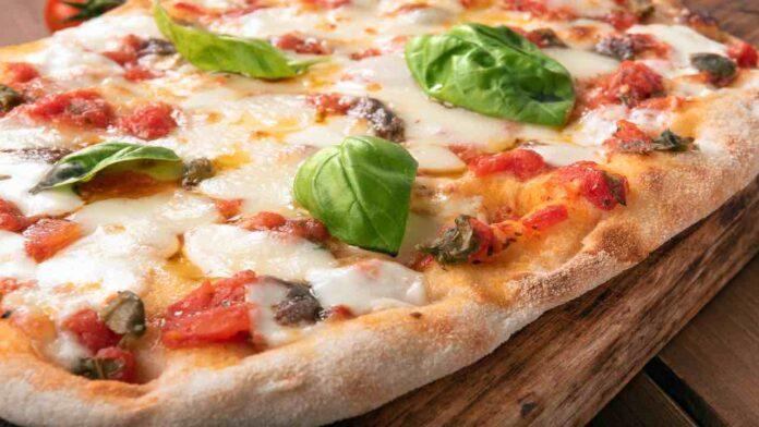 Pizza liquida SENZA LIEVITAZIONE