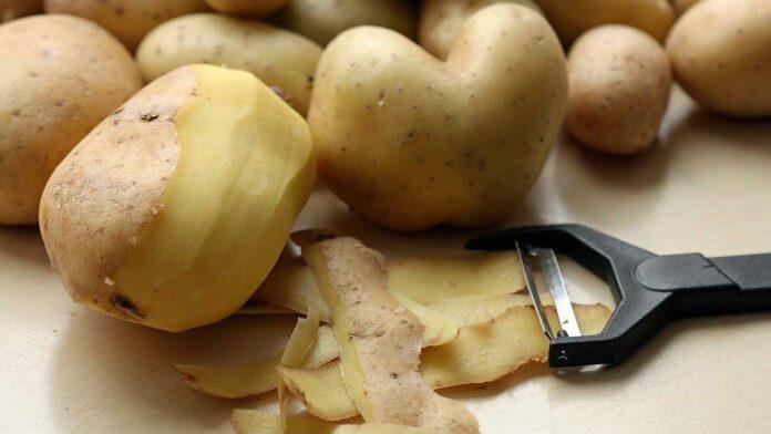bucce patate