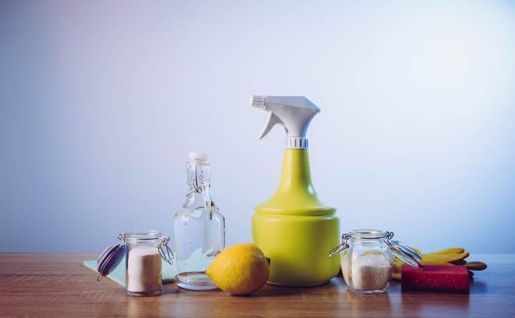 Prodotti naturali pulizia