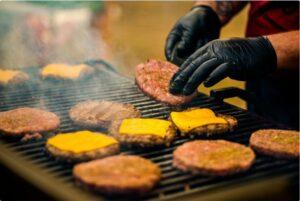 cheesburger cottura