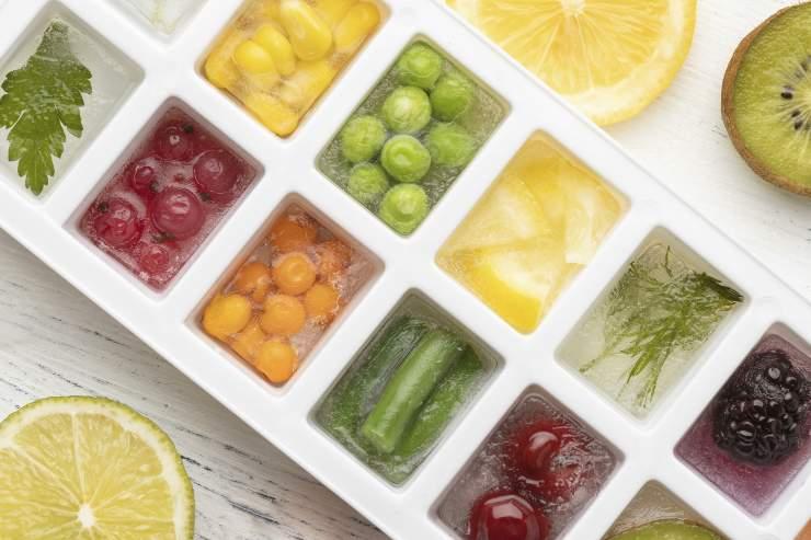 vaschetta con frutta