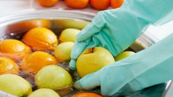 lavare frutta verdura