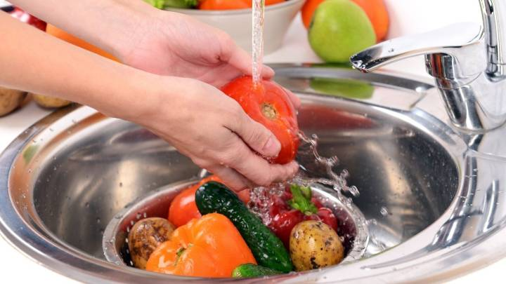 lavare verdura