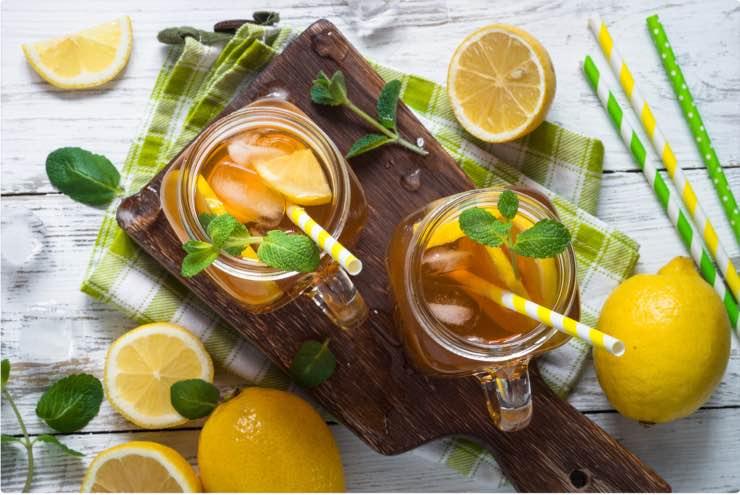 tè freddo limone