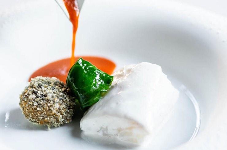 Piatto dello chef ANTONINO CANNAVACCIUOLO