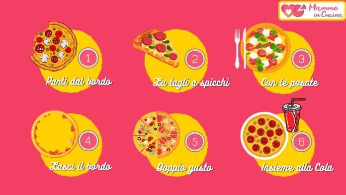 Come mangi la pizza