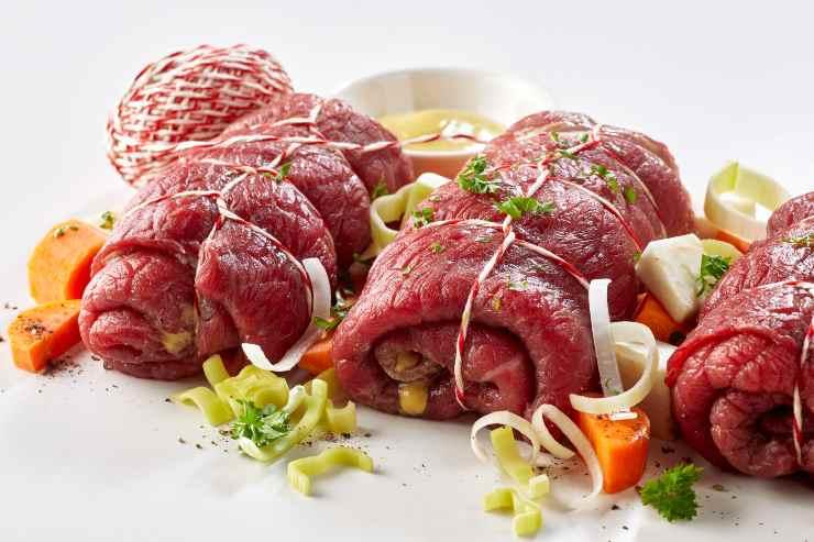 Involtini carne