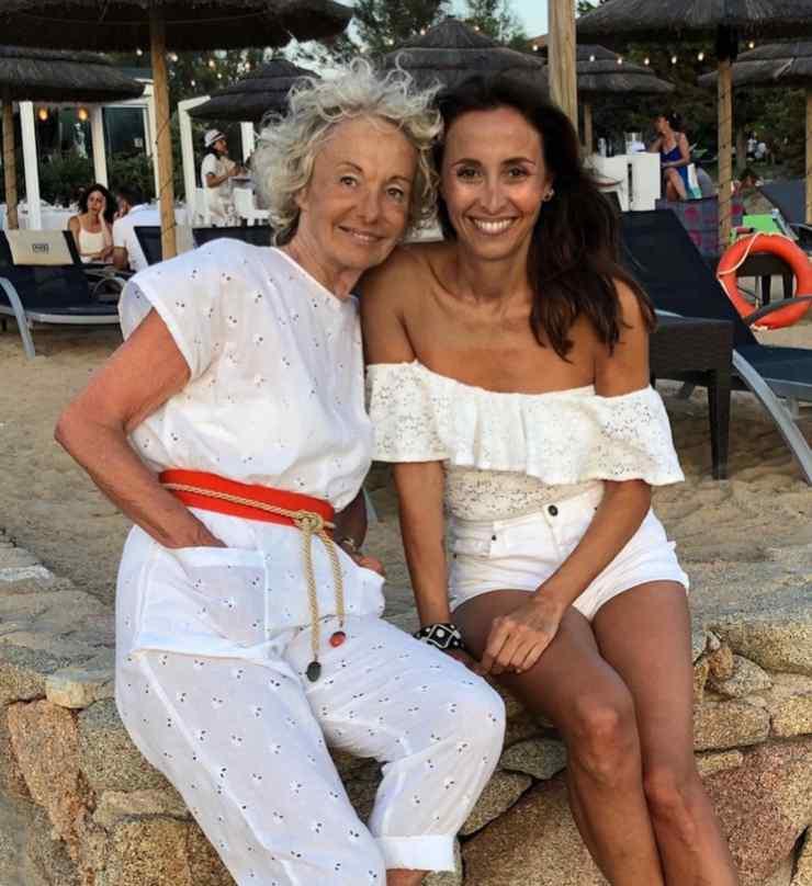 Benedetta Parodi e la mamma