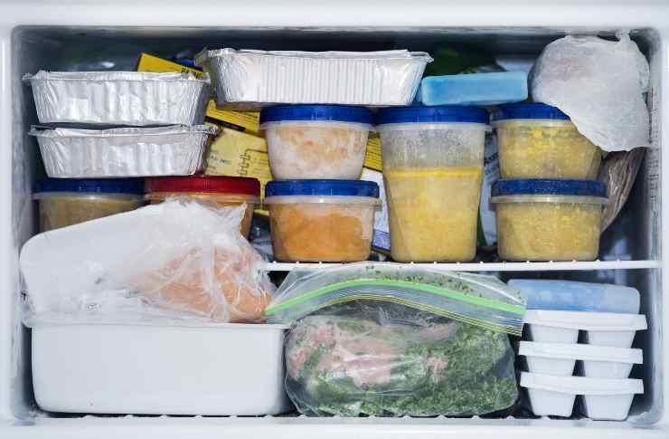 freezer errori