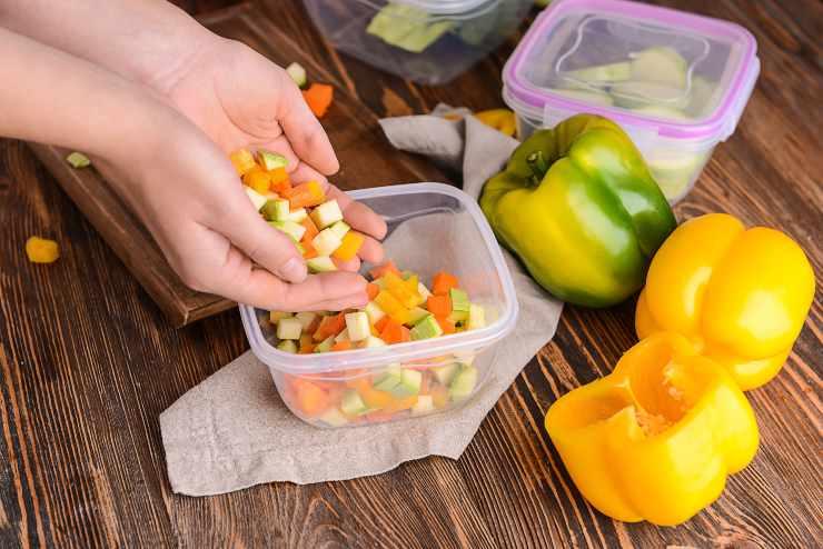 avanzi cibo conservare