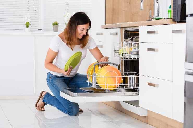 lavastoviglie uso corretto