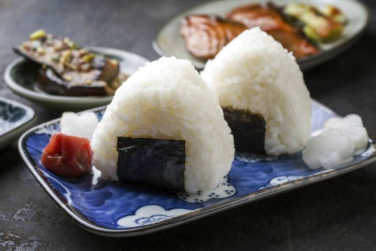 test piatto giapponese