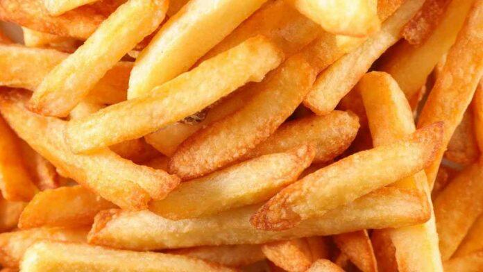 trucco patatine fritte croccanti